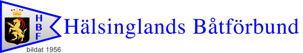 HBF – Hälsinglands Båtförbund Logo